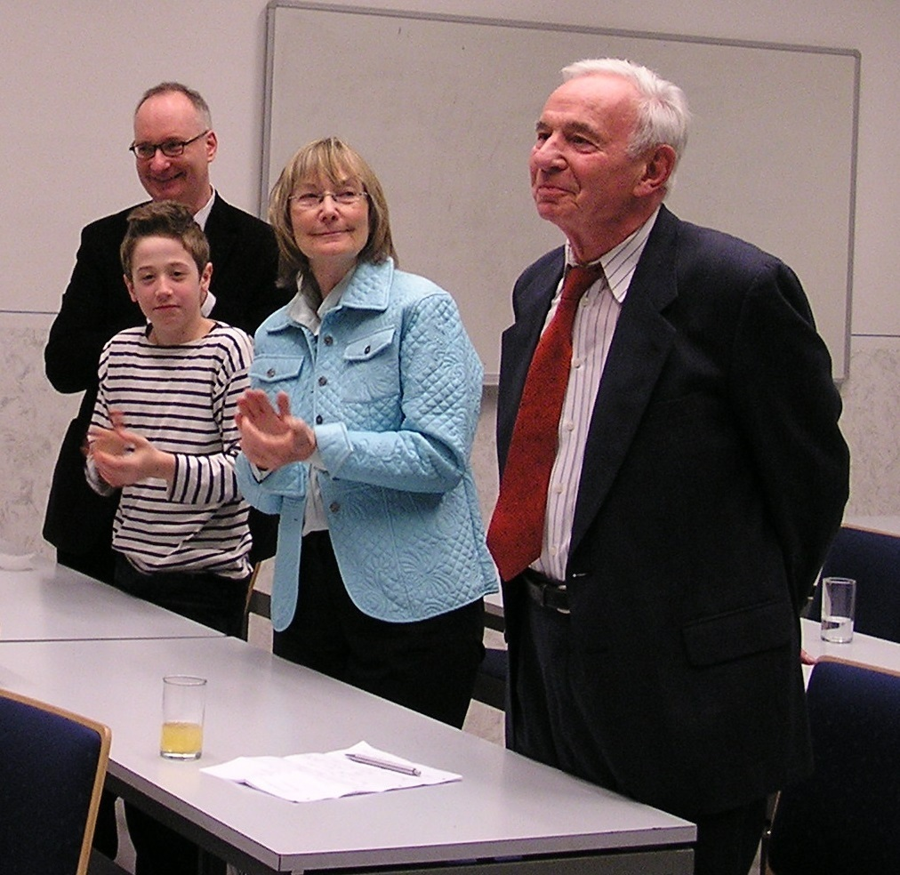 Theo Hahn and family 2008